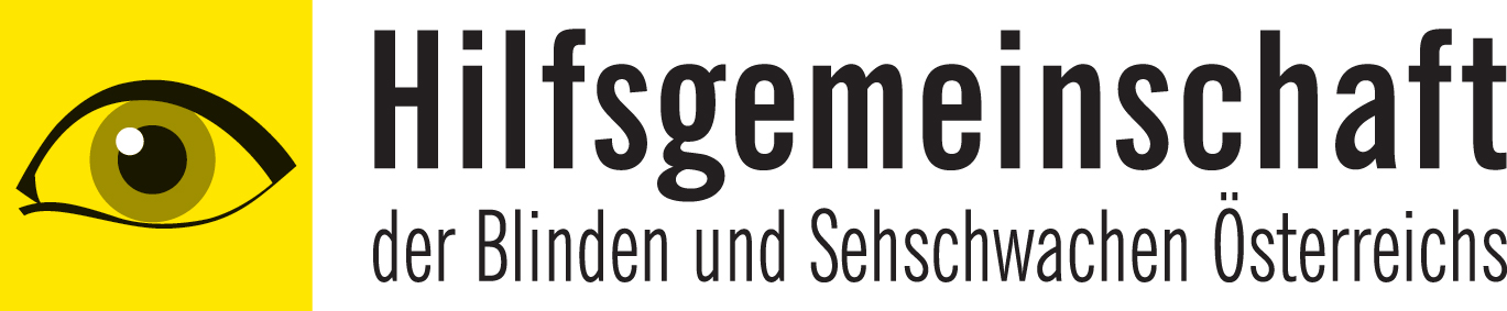 Logo Hilfsgemeinschaft der Blinden und Sehschwachen Österreichs